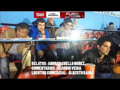 Peñarol 4 Sud America 1 RELATOS ANDRES CUELLO NUÑEZ AM 1560 RADIO MALDONADO