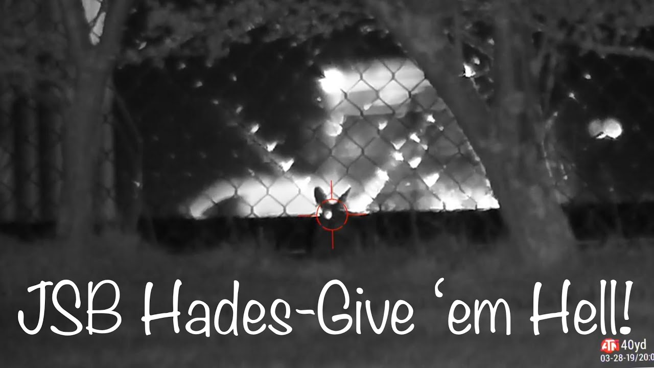 #1 FX Impact Rabbit Hunting with the new JSB Hades- Give 'em Hell!