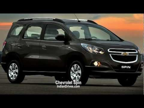 2013 Chevrolet Spin MPV - Official First Look