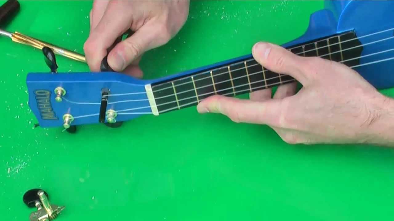 ukulele implementation of fine tuning peg in 5 minutes ...