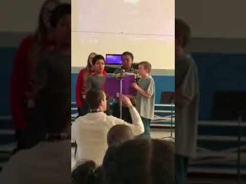 Singing Evansville students become social media stars with 'Hallelujah' performance