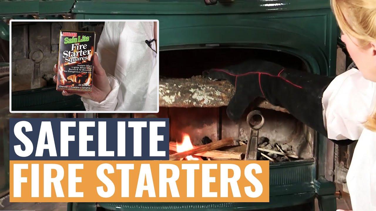 safelite fire starters youtube