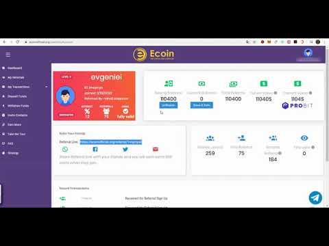 Ecoinofficial Org   РАЗДАЧА МОНЕТ  Криптовалюта бесплатно  БИРЖА   Probit Exchange