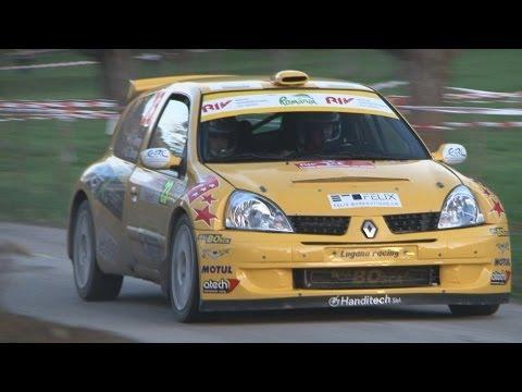 Xavier Tornay / Geoffrey Tornay Renault Clio S1600 Super 1600 et Citroen C2 R2 Max, Saison 2013