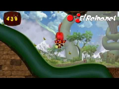 Vídeo análisis/review New Play Control! Donkey Kong Jungle Beat - Wii