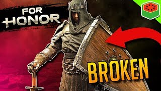 NEW CHARACTER IS BROKEN - BLACK PRIOR!   For Honor