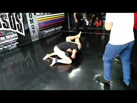 Pedro Pando vs Luis Quispe  (Semi Final: Catg: Noveles 85kg)