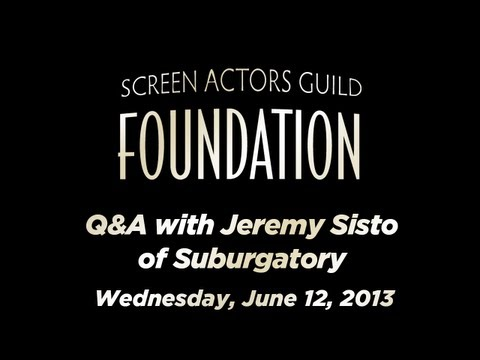 Conversations with Jeremy Sisto of SUBURGATORY