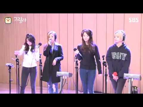 [SBS]컬투쇼, Something, 걸스데이 라이브