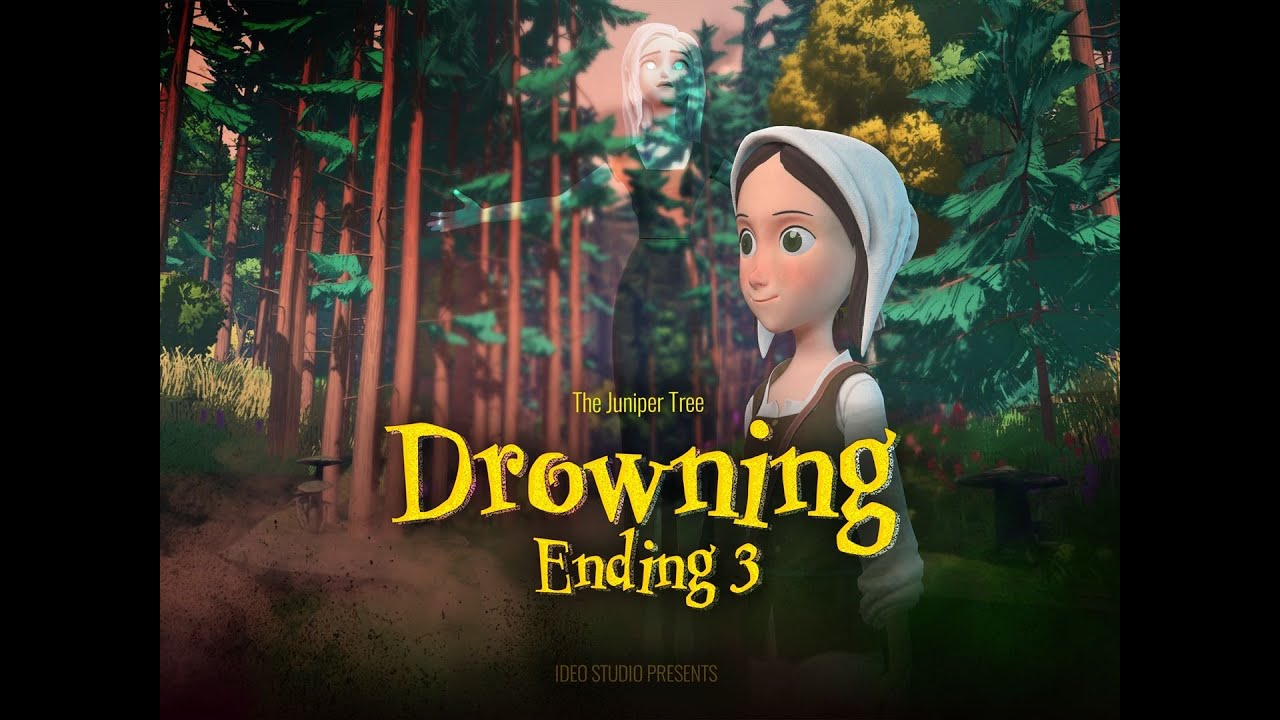 Drowning 🦉 Ending 3️⃣ Juniper Tree Series🌲 Animated Series | Animated Short Film | Animation Story
