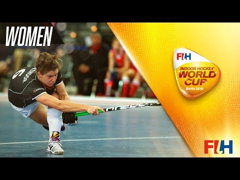 Poland v USA - Indoor Hockey World Cup - Women\'s Pool A