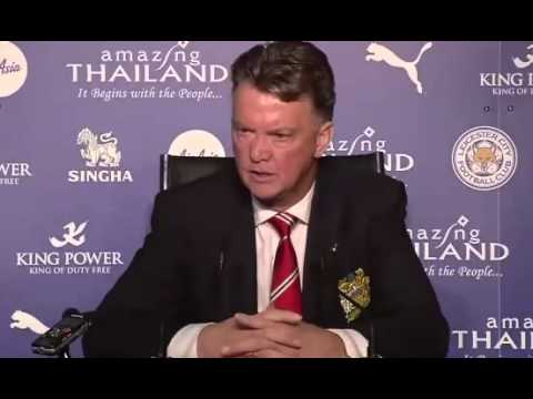 Louis van Gaal shocked by Manchester United's 5-3 defeat by Leicester City