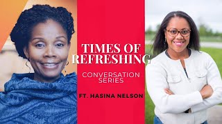 REST STOP Conversation with Hasina Nelson PART ONE