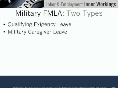 Deployment to Employment: Overview of Military Veterans' Employment Rights