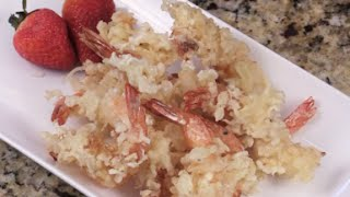 Crispy Tempura Battered Shrimp - Super Bowl Food