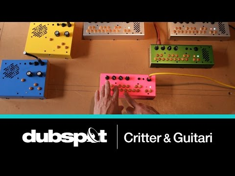 Music Tech Spotlight - Unique Synths from Critter and Guitari in Brooklyn, NY