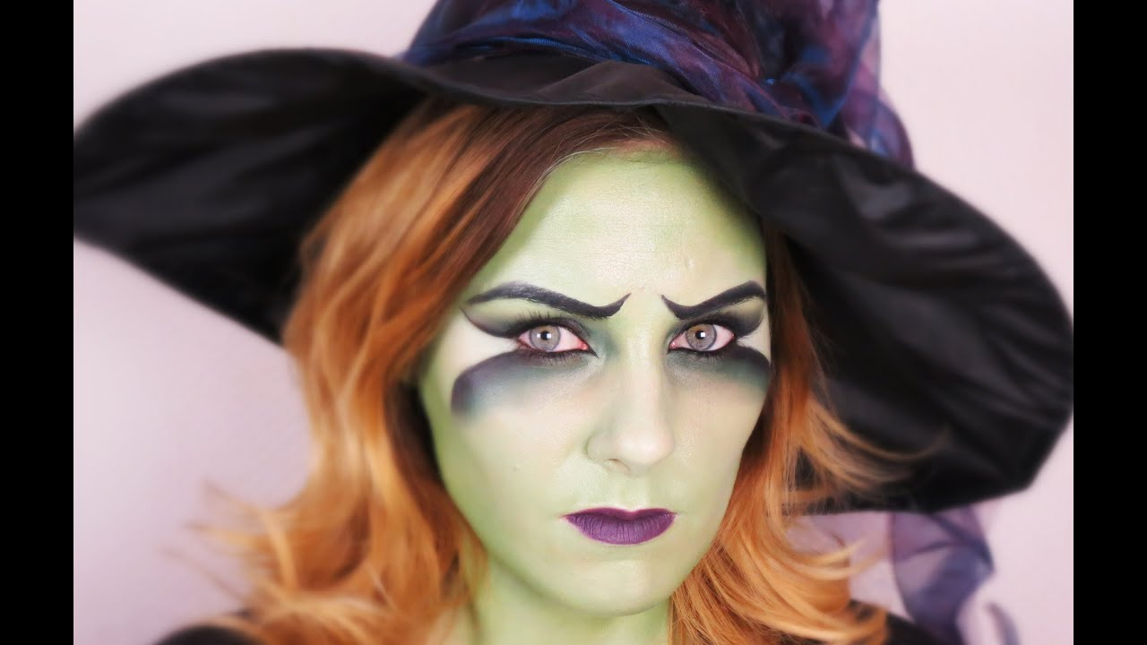 fasching halloween witch makeup tutorial. Black Bedroom Furniture Sets. Home Design Ideas