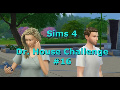 Let´s Play Die Sims 4 ♥ [Dr. HOUSE CHALLENGE] #16   Beförderung mit Party