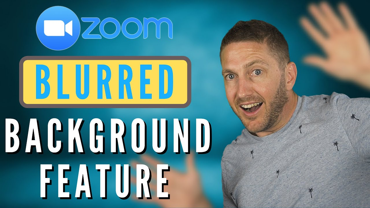 How To Use New Blur Background In Zoom Feb 2021 Feature Update Youtube