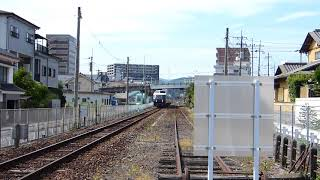 2018/8/8 回送列車(あそぼーい!)走行@日田~豊後三芳間