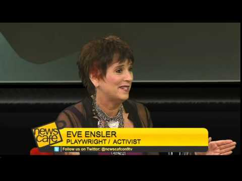 News Cafe Episode 110: Eve Ensler