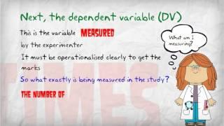 Değişkenler IV, DV, gereksiz değişkenleri