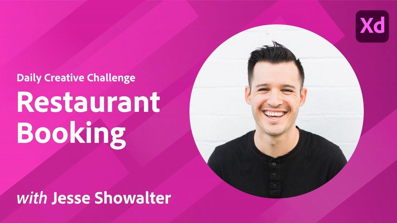 Creative Encore: XD Daily Creative Challenge - Restaurant Booking