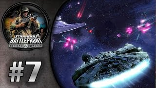 Star Wars Battlefront: Renegade Squadron (PSP) HD Gameplay: Space Alderaan | Rebels