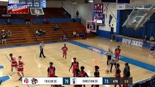 Christian County vs Taylor County | Boys HS Basketball