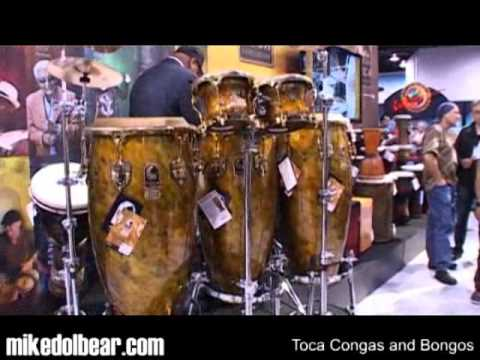 toca congas and bongos namm2011 youtube. Black Bedroom Furniture Sets. Home Design Ideas