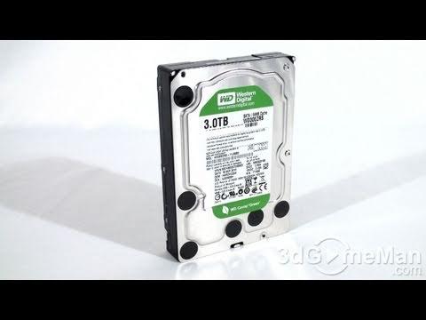 "#1190 - Western Digital Caviar Green 3TB 3.5"" Hard Drive Video Review"