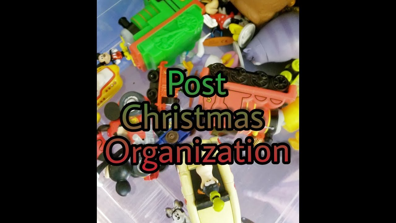 Post Christmas Organization! TOY OVERFLOW!