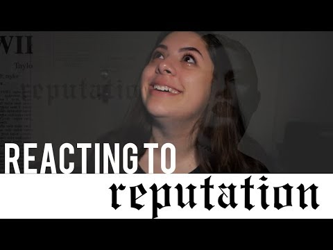 REACTING TO REPUTATION BY TAYLOR SWIFT (LOTS OF TEARS)
