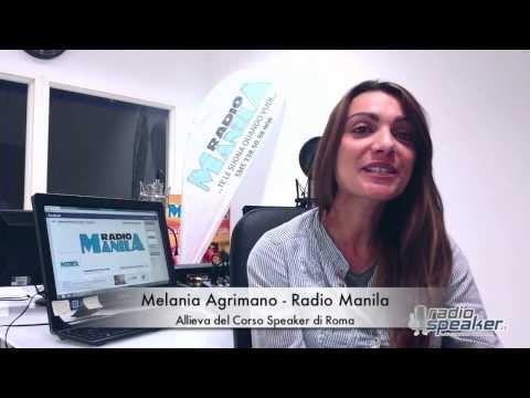 Lavoro in Radio grazie a Radiospeaker.it - Melania Radio Manila