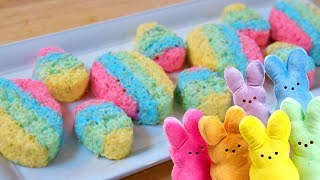 EASTER EGG PEEPS with Rice Krispies!