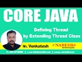 Defining Thread by Implementing Runnable Interface | Core Java Tutorial  | Mr. Venkatesh