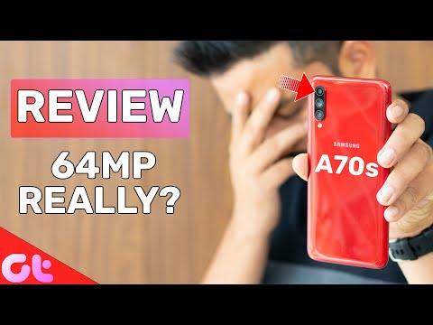 Samsung Galaxy A70s Review: 64MP Camera Really Good? | GT Hindi