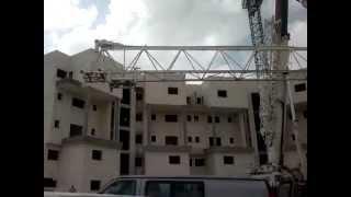 Crane Terex-Demag AC 265. Avi cranes. Демонтаж башенного крана.(, 2011-03-10T07:45:30.000Z)