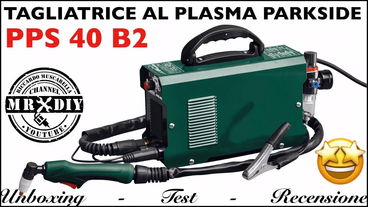 Recensione Taglierina Al Plasma Parkside Lidl Pps 40 B2 Test Plasma Cutter Parkside Youtube