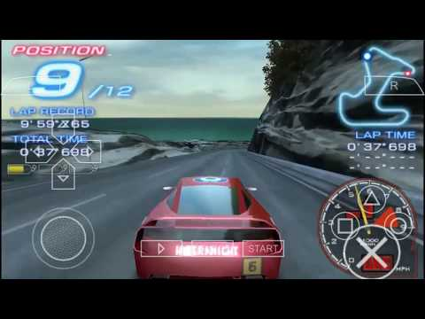 Cara Download Dan Install Ridge Racer ISO PSP PPSSPP Android