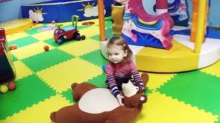 Игровая комната и детская площадка в Игроленде ТРЦ Sky Mall Games room and playground in Igroland