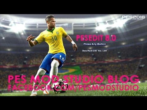 PES 2013: PESEdit 8.0 Lastest Patch Season 2015/2016 Tutorial