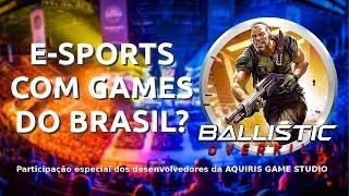 Desenvolvedores do Brasil falam sobre games nacionais em E-Sports