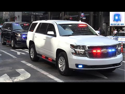 [NYC] Emergency vehicles @ UN General Assembly - 5/10