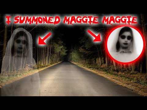 I SUMMONED MAGGIE MAGGIE ON THE HAUNTED MAGGIE BRIDGE AND THIS HAPPENED!