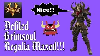 Dungeon Hunter 5 - Gear Evolution - Defiled Grimsoul Regalia HD