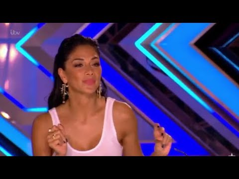 Russell Jones: Jazzy Singer Gets Flirty With Nicole Scherzinger | The X Factor UK 2017