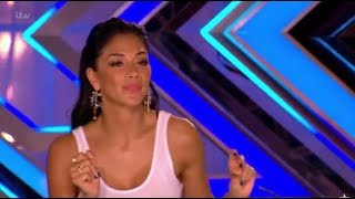 Video Russell Jones: Jazzy Singer Gets Flirty With Nicole Scherzinger | The X Factor UK 2017 download MP3, 3GP, MP4, WEBM, AVI, FLV September 2017