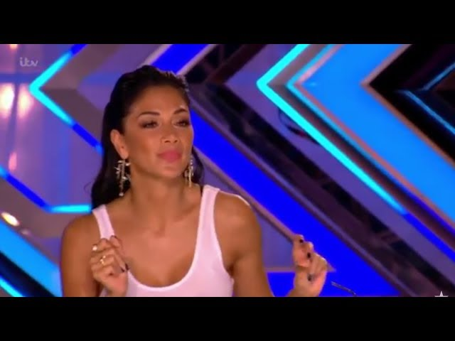 Russell Jones: Jazzy Singer Gets Flirty With Nicole Scherzinger | The X Factor UK 2017
