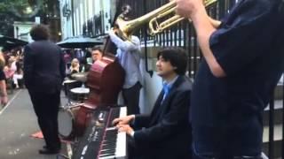 Julian Fenton Jazz Band in Gordon´s wine bar.